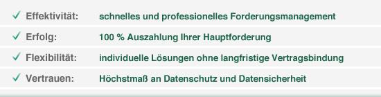 Vorteile und USP der Lexfort Forderungsmanagement GmbH